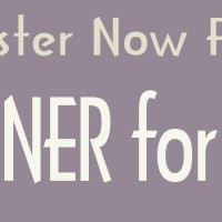 Register Now for Dinners for 8-ish!