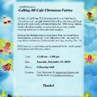 CHUM Women to Pack Gifts – Sat, Dec 13, 2014, 11:30am