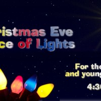 Christmas Eve Service for the Young & Young at Heart – 4:30pm