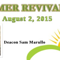 2015 Summer Revival Series