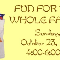 2016 Fall Carnival of Fun – Sunday, October 23 from 4:00-6:00pm
