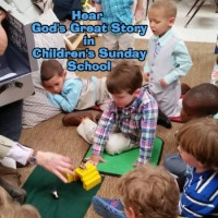 What's happening in Children's Sunday School?