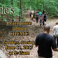 Want to Learn More About CHUMC? Join us beginning June 11, 2017 – 9:45am