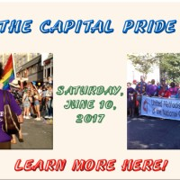 Take part in the Pride Parade – Sat, June 10, 2017