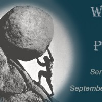 What's the Point? New Sermon Series of Ecclesiastes to being Sept. 17, 2017